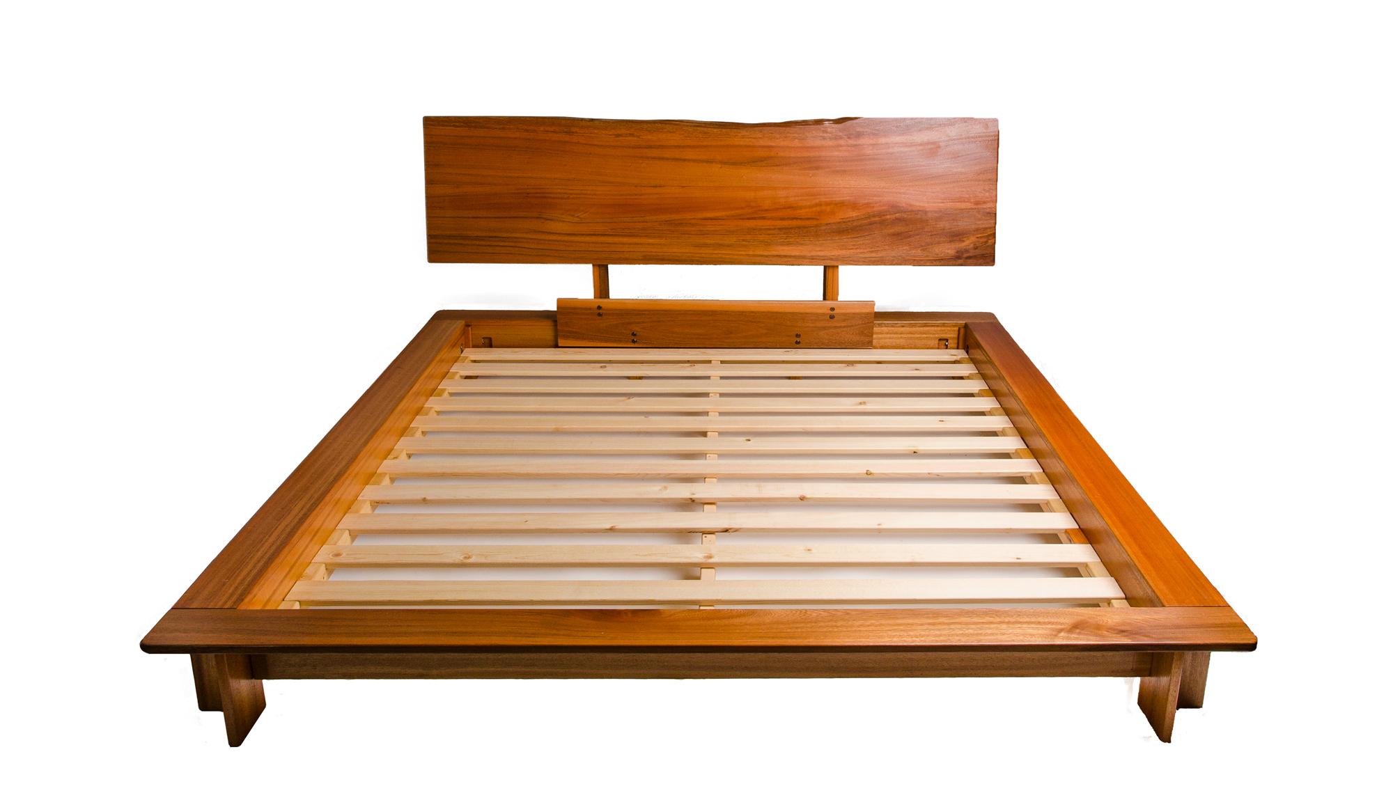 Solid Wood Platform Bed Frame King
